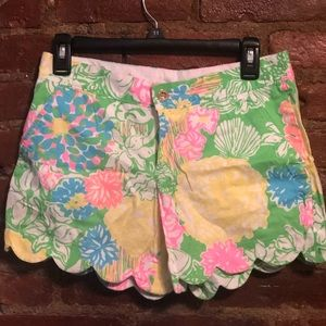 Size 2 buttercup Lilly Pulitzer shorts